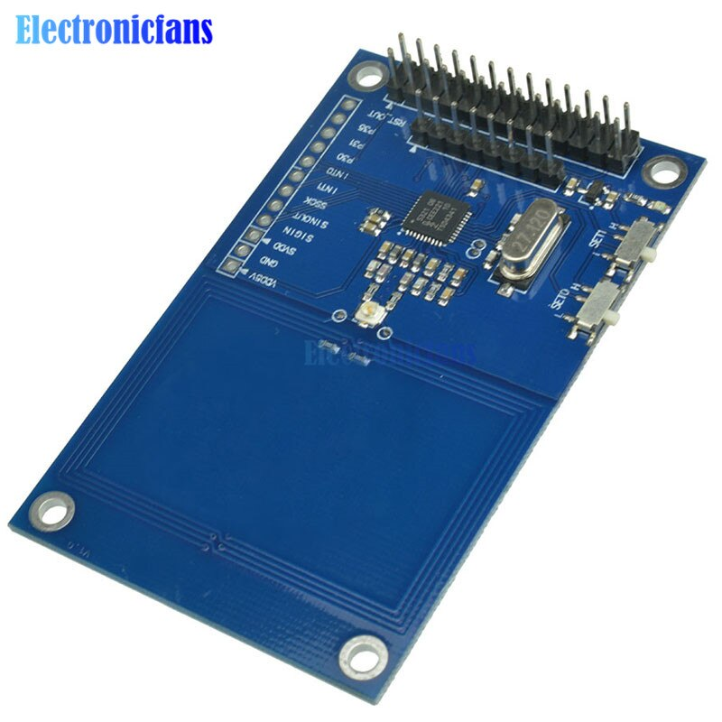 Модуль считывания карт PN532 NFC, RFID IC, экран V3, 13,56 МГц, SPI, IIC, I2C, UART, 3,3 В, NFC плата для Arduino UNO R3 Raspberry PI
