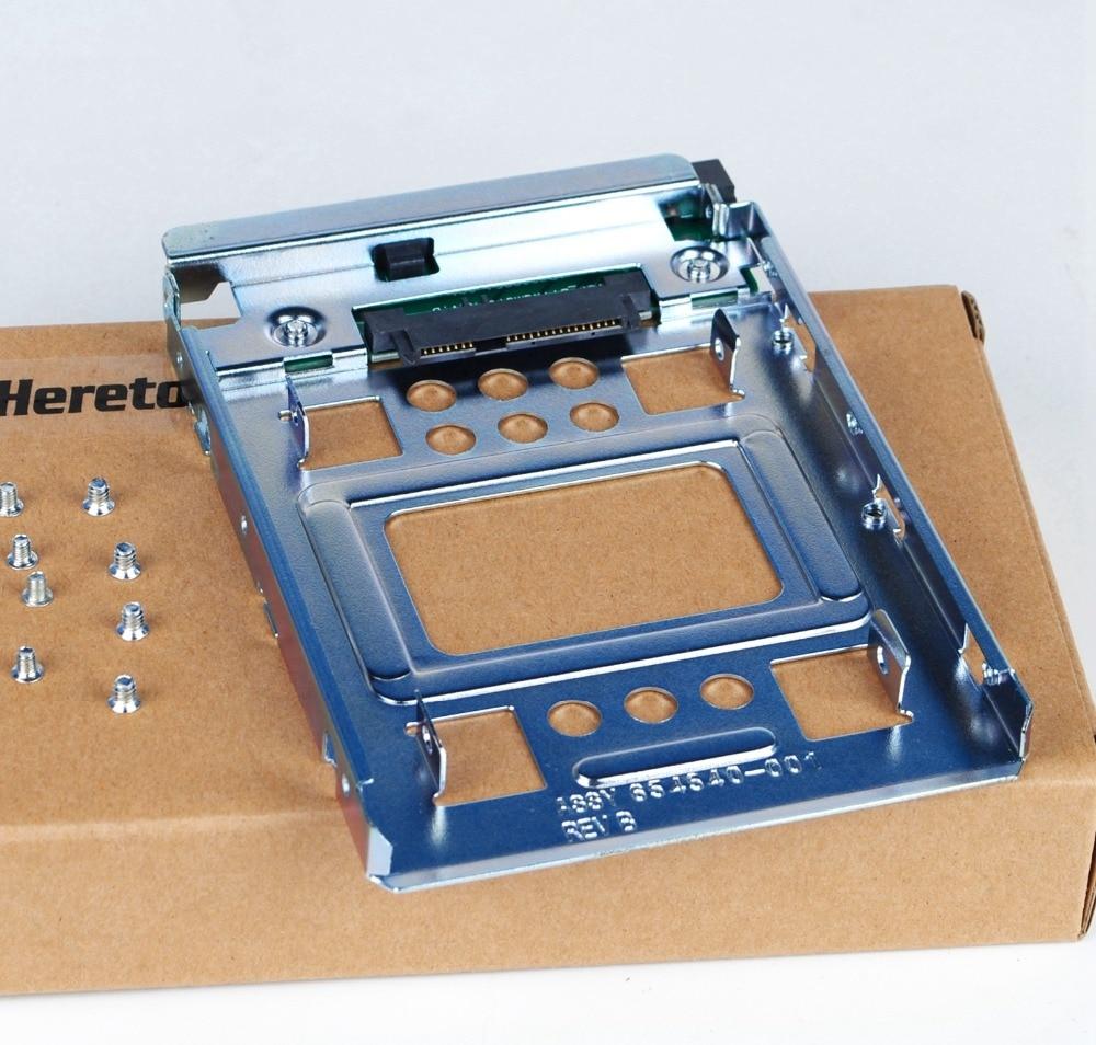 "Heretom SAS/SATA/SSD 2.5"" to 3.5"" Adapter Bracket For HP Z420 Z620 Z820 654540-001"