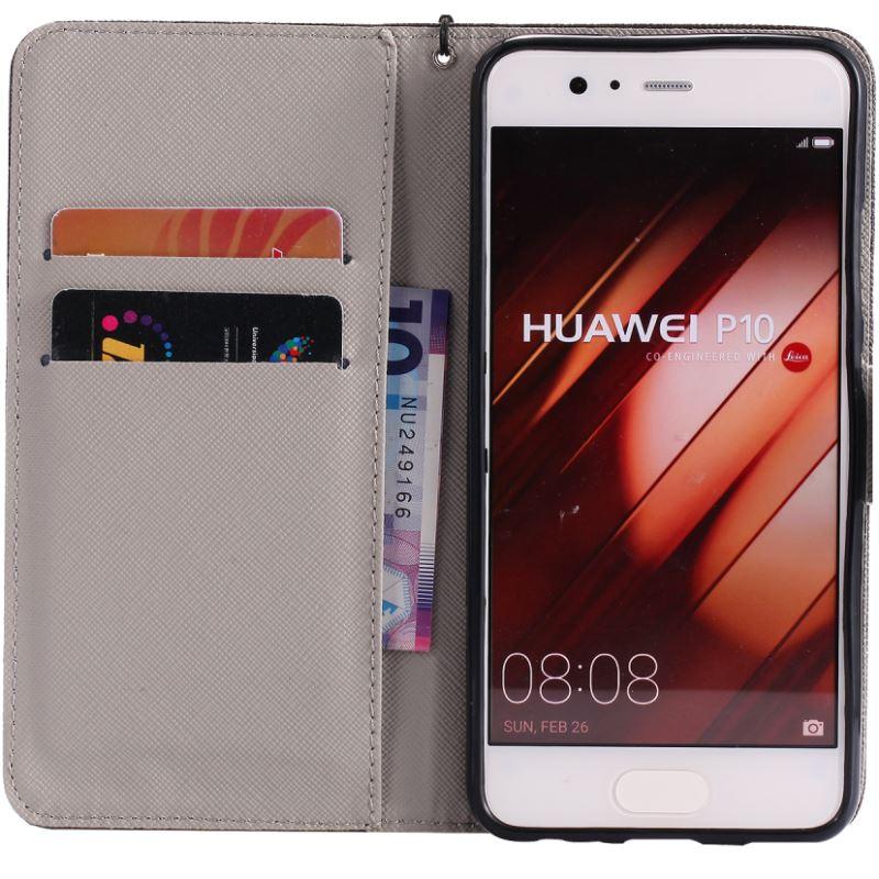 Funda de cuero con tapa para Huawei P Smart Mate 9 10 P20 Pro P10 P8 P9 Lite Mini 2017 Fundas de silicona para teléfono Coque P06Z