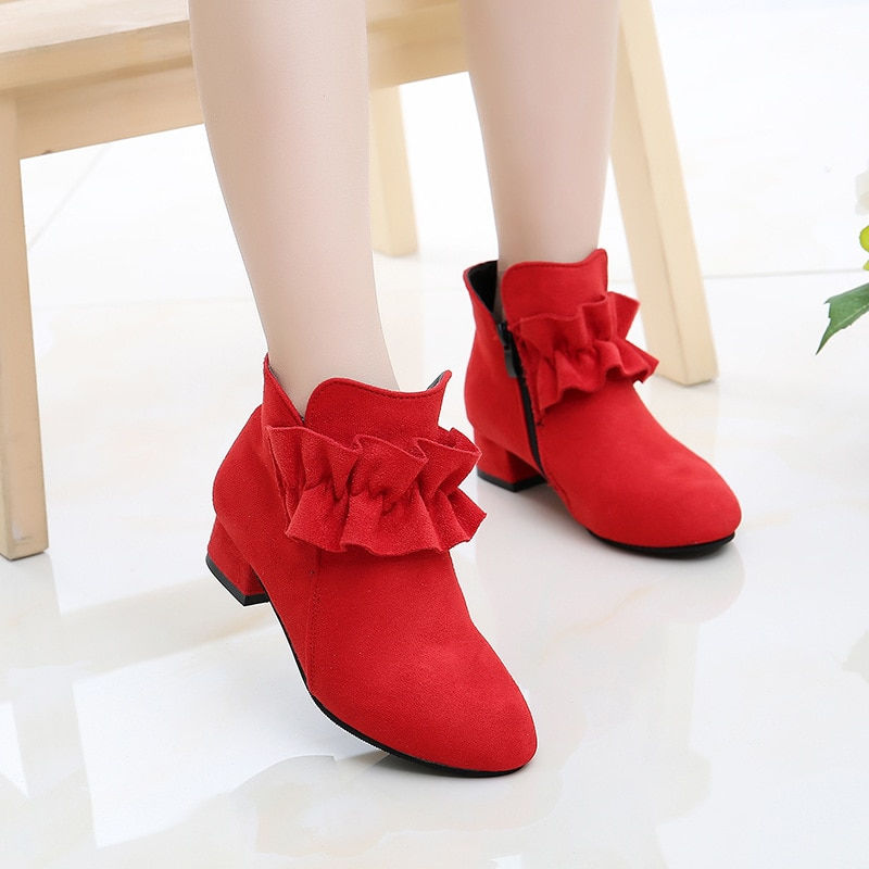 Carters nuevos Tenis reales infantiles Melissa Sapatos Menina niñas zapatos de tacón alto, y botines, bota única de princesa para niños