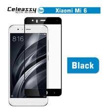 Celestassy 2.5D 9H черный защитный чехол из закаленного стекла для Xiaomi Mi 6 Xiomi Mi6 Защитная пленка для экрана