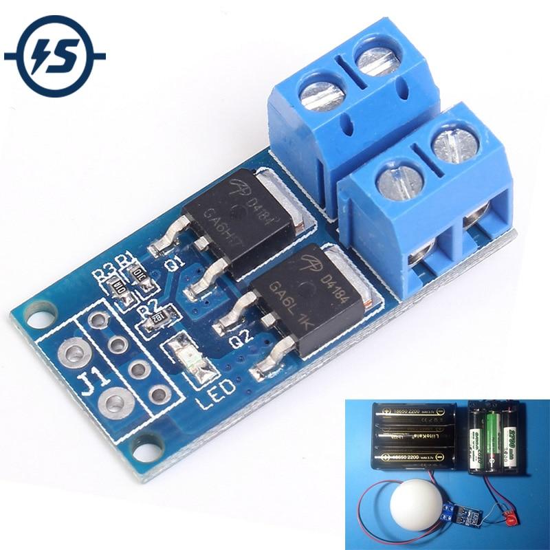Module dentraînement de commutateur de déclenchement MOS FET haute puissance régulateur PWM panneau de commande de commutateur électronique DC 5 V-36 V