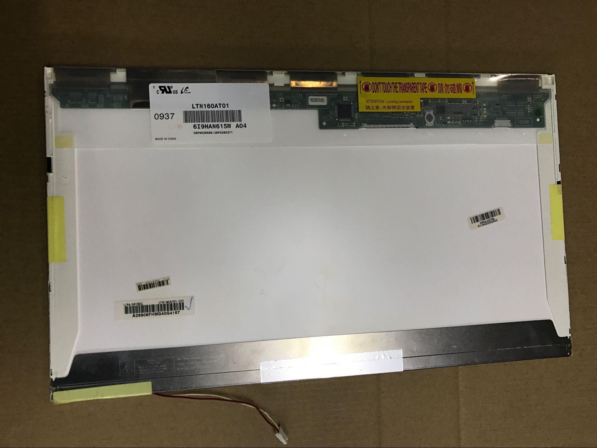 Para Asus X61S Aspire 6930G 6920G 6935 a 6935G forToshiba AX/53HPK CQ60 pantalla LCD de ordenador portátil LTN160AT01 LTN160AT02
