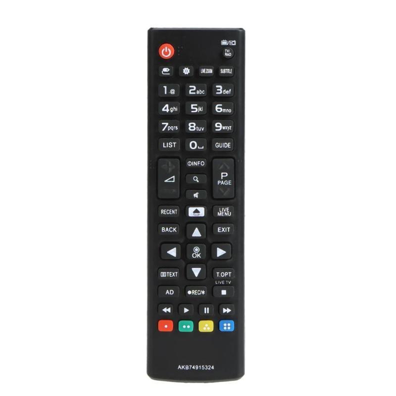 ABS reemplazo 433MHz Control remoto de televisión inalámbrico inteligente para LG AKB74915324 LED controlador de TV LCD triangulación de envíos