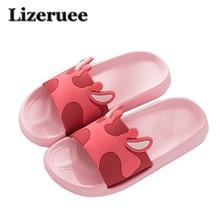 New Slippers Women Shoes Unisex Flat Home Slippers Soft Anti-skid Design Stylish Indoor Bathroom Slippers Beach Sandal ME459