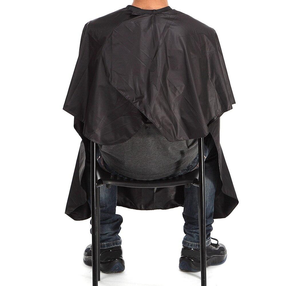 Capa de corte de pelo pasta Collar impermeable de poliéster tela barbería peluquería profesional corte de pelo June11