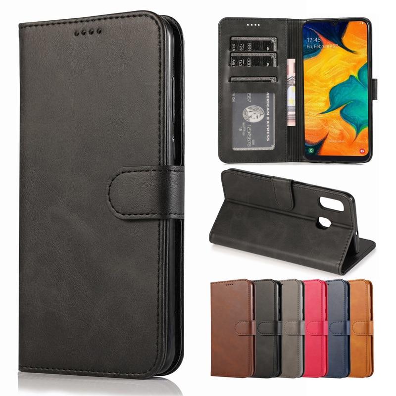 Funda de teléfono para Samsung Galaxy A40, funda de piel con tapa y ranura para tarjetas para Samsung A40 A 40, funda para Galaxy A40