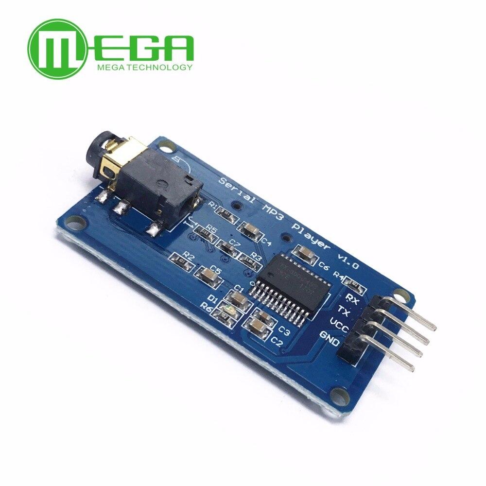 10 قطعة YX6300 YX5300 UART التحكم المسلسل MP3 مشغل موسيقى وحدة AVR/ARM/الموافقة المسبقة عن علم لاردوينو