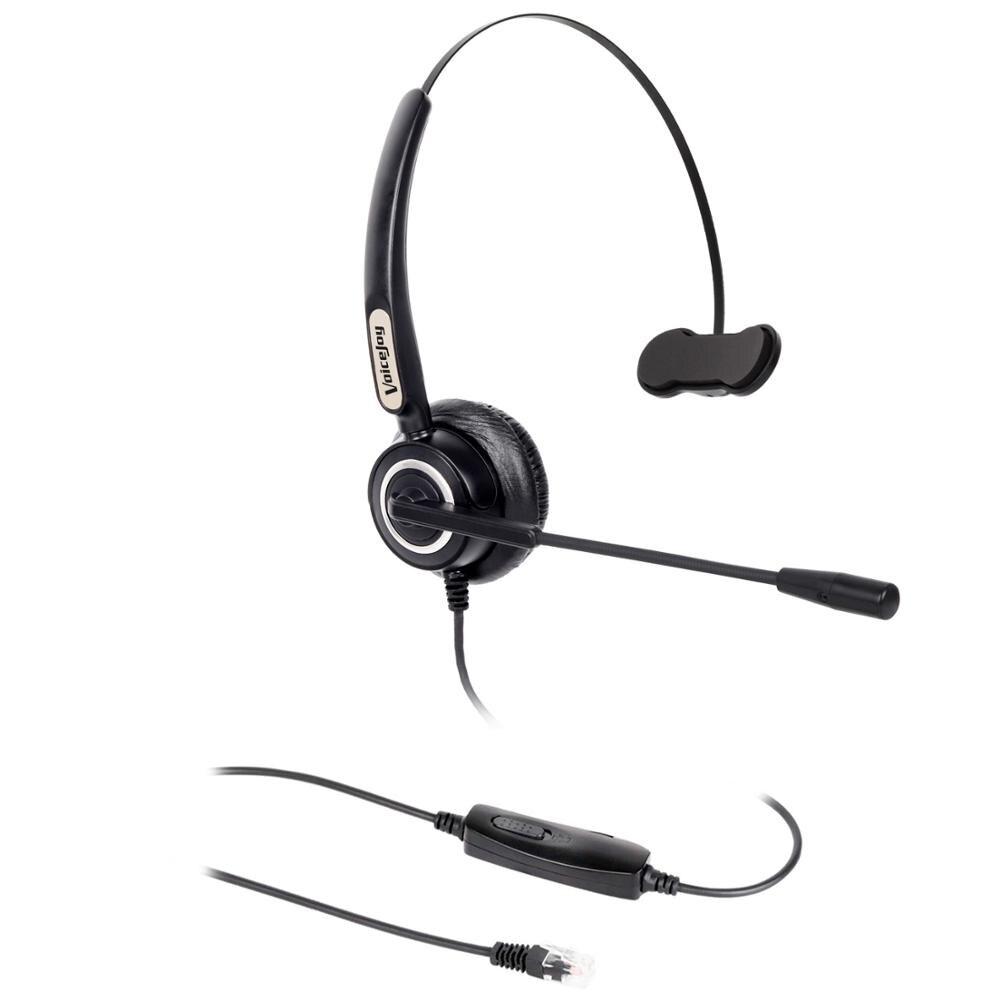 Oficina de auriculares para Polycom VVX Aastra Allworx Alcatel Lucent AltiGen Comdial Digium Mitel Nortel Norstar Meridian teléfonos