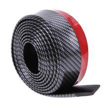 Резиновая лента для бампера, мягкая черная лента для переднего бампера, 60 мм, ширина 2,5 м, длина