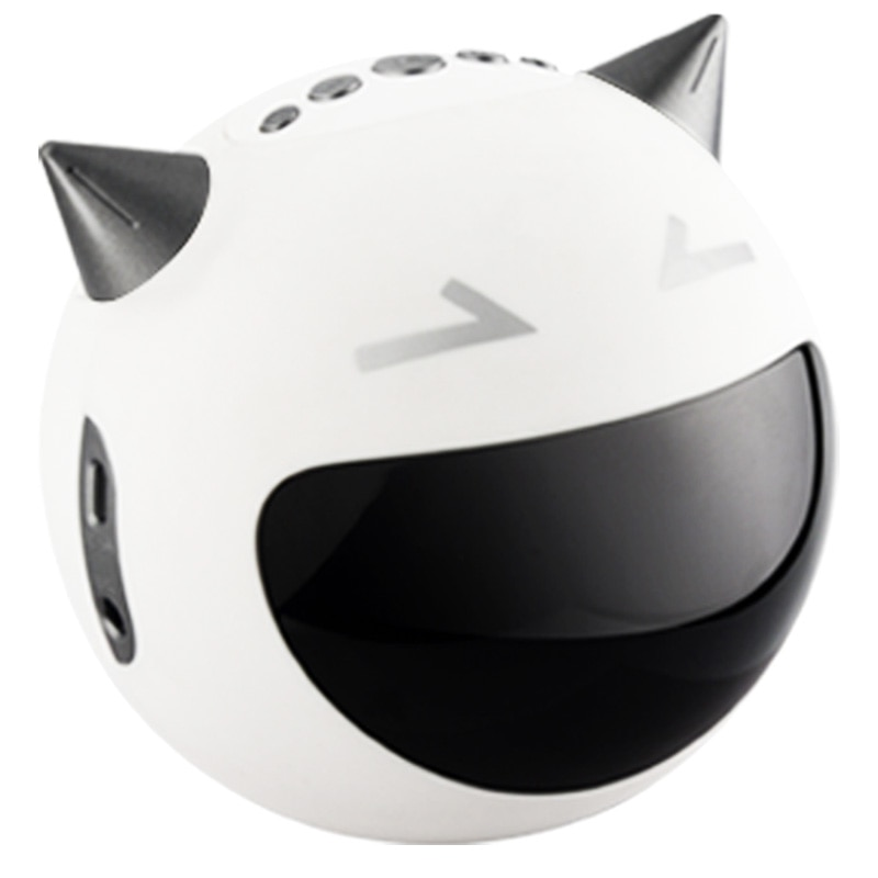 Altavoz portátil Bluetooth, mesita de noche, reloj despertador LED, micrófono K Song, Radio FM, Audio inalámbrico, reproductor de tarjeta TF, mesa Robot MP3