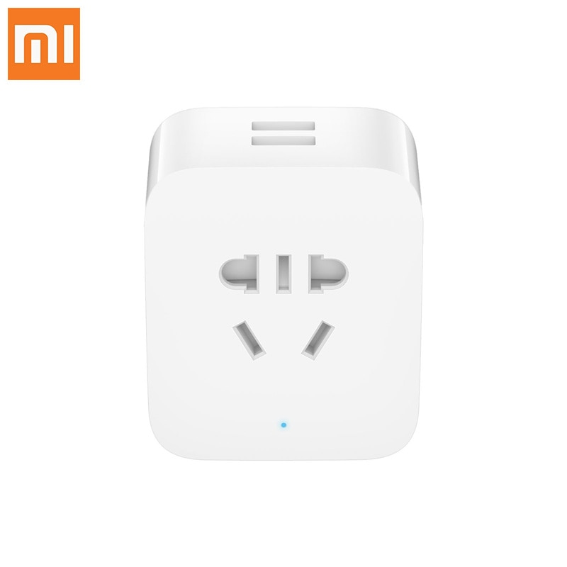 Original xiaomi hembra mi wifi en casa multi-función USB estadísticas zócalo inteligente versión mejorada