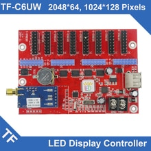 TF-C6UW Longgreat TF WIFI port USB LED carte de contrôle daffichage simple double couleur