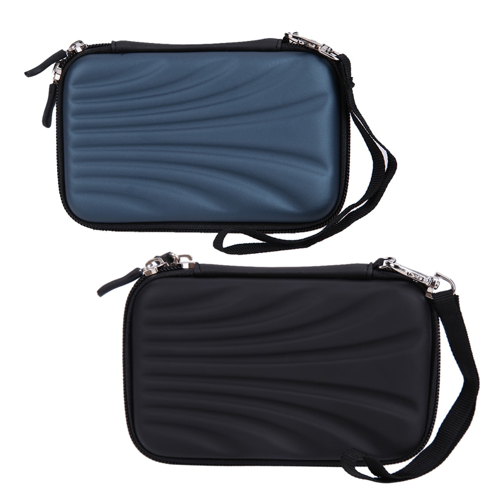 Водонепроницаемый портативный внешний жесткий диск 2,5 дюйма PTSP, чехол для внешнего жесткого диска, сумка из ПУ ЭВА для переноски, карман