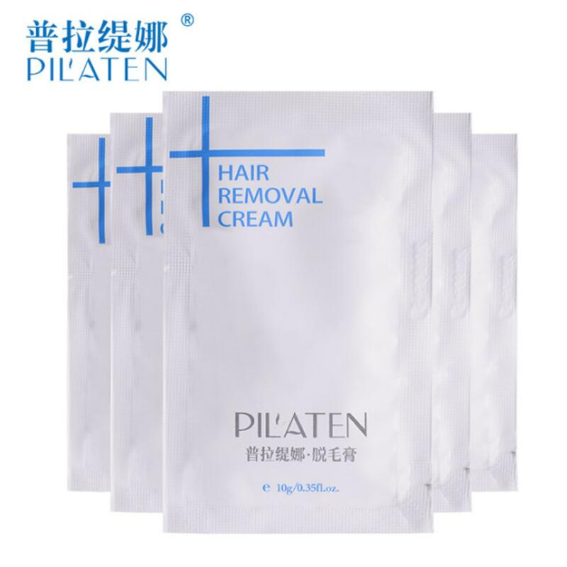 DHL 1000pcs Depilatory Cream Painless Hair Removal Cream Professional Hair Remover Armpit Legs Pilaten Skin Care