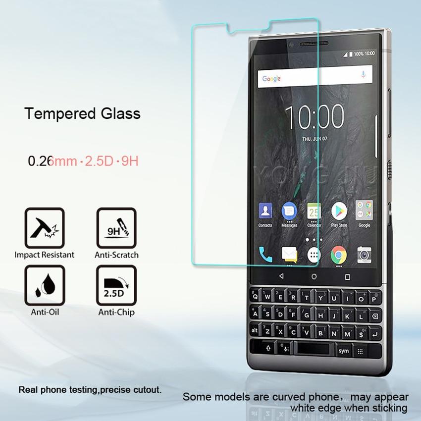 Для BlackBerry Key2 закаленное стекло 9H 2.5D Премиум Защитная пленка для экрана для BlackBerry Keytwo Key 2 Two 4,5