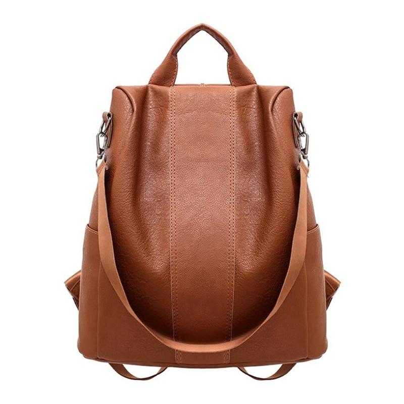 De alta capacidad de mochila caliente vender moda mochilas para mujeres bolsa de alta calidad de prácticas de viaje Vintage bolso Casual estudiante bolsas