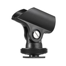 "Andoer 19mm Flexible Mic Mikrofon Halter Clip Ständer Zubehör 1/4 ""Schraube Loch für DSLR Kamera"