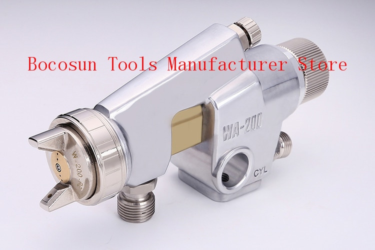 WA200 spray gun WA-200 automatic gun paint spray gun 1.2/1.5/2.0/2.5MM nozzle big nozzle air sprayer