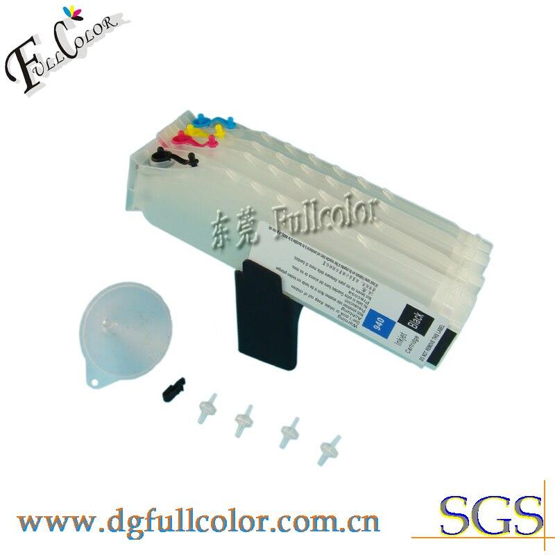Frete grátis estável cartucho de impressora com chip de 940 para HP Offocejet Pro 8500 All-in-One, 8000 de Impressora