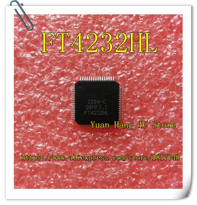 10 teile/los FT4232HL FT4232H FT4232 LQFP64 Universal empfänger/sender IC NEUE