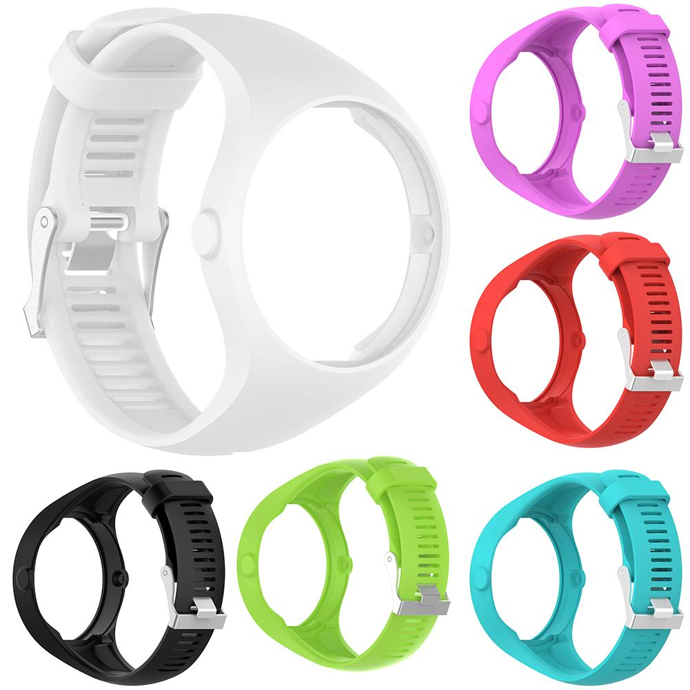 New Arrival Solid Color Soft Silicone Smart Bracelet Watch Strap Wrist Band for Polar M200 high quality comfortable silicone replacement wrist watch band for polar v800 smart bracelet with tool smart watch strap
