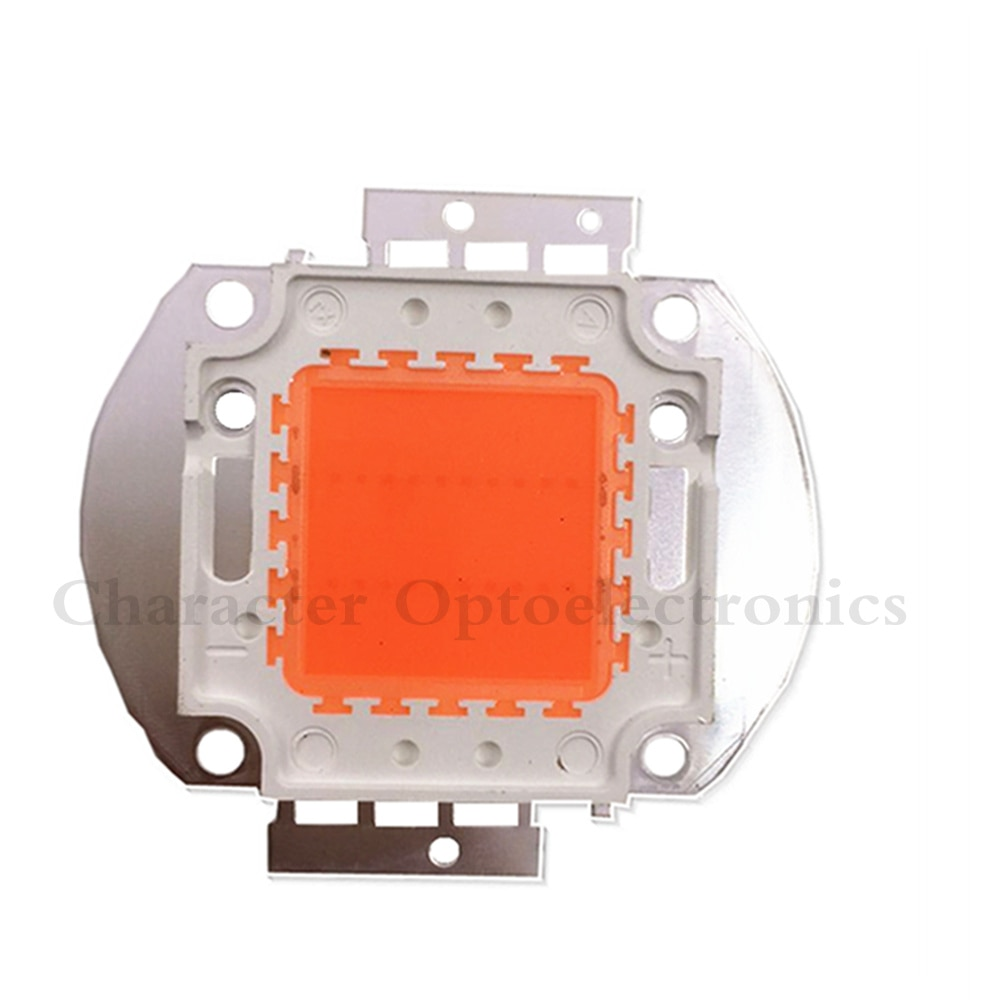 10 PCS de Alta Potência 20 W Full Spectrum 380 ~ 840nm SMD LED Frow Chip BridgeLux Lâmpada Luz Para Planta crescer