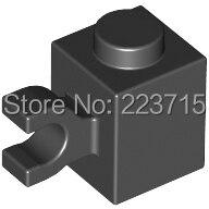 * Tijolo 1X1 W/Suporte, vertical * 20pcs bloco iluminai DIY tijolo part No. 60476 Compatível Com