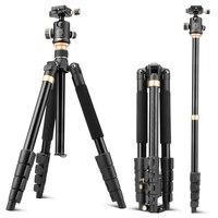Трипод для камеры Q666BD, алюминиевый Трипод для цифровой зеркальной камеры, Трипод для фото, нагрузка 13 кг, 157 см