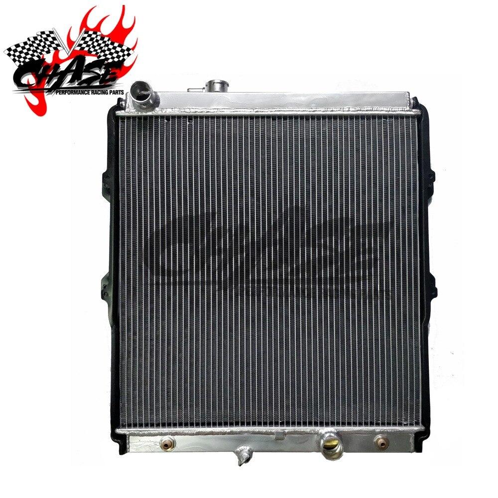 Aluminium Kühler Für TOYOTA Hilux Pickup ZU 40mm
