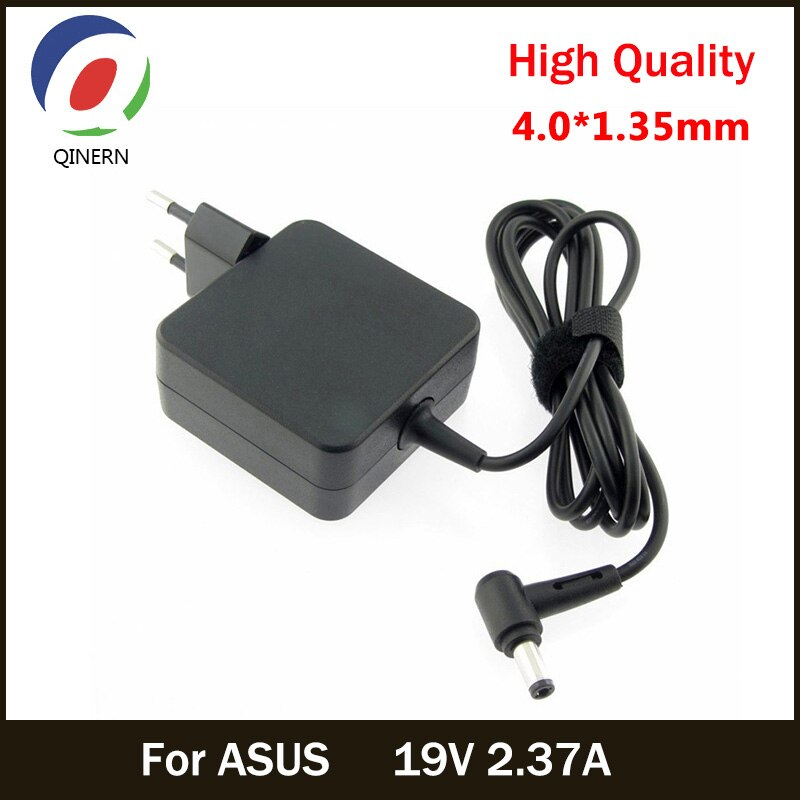 Зарядное устройство для ноутбука Asus Zenbook UX305 UX21A X201E X202E U3000 UX52, 19 в, 2,37a, 45 Вт, 4,0*1,35 мм, адаптер, ADP-45BW
