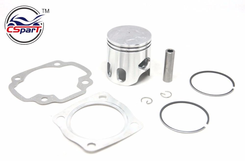 Performance 48MM 10MM Piston Ring Gasket kit 70CC Jog 50 50CC RR LC Kazuma  MALOSSI IRON ATV Go Kart  Buggy