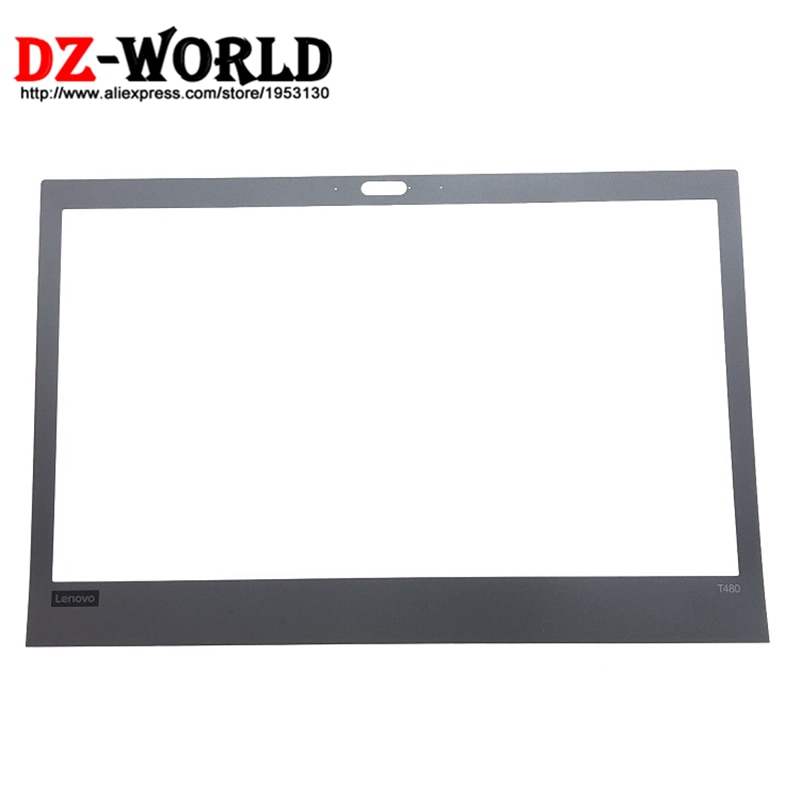 Nuevo/Orig Laptop pantalla frontal LCD B Bezel cubierta para Lenovo ThinkPad T480 pantalla marco parte 01YR487 01YR488