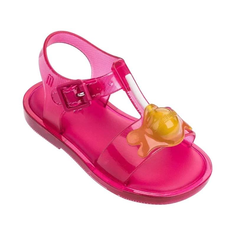 2019 New Mini melissa Design Summer Girls sandals Shoes Breathable Sandals Children Sandals Lovely Mini melissa Sandals