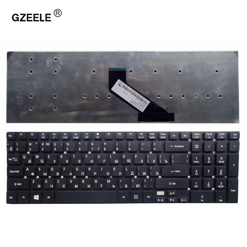 GZEELE ruso teclado del ordenador portátil para Acer para Aspire V3-571-6882 V3-571-9808 V3-571-6456 V3-571-6805 RU ruso sin marco
