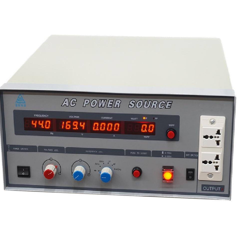 محول طاقة عالي الجهد قابل للتعديل ، دقة عالية ، 500VA ، تردد متغير ، مصدر طاقة تيار متردد 500 واط ، تحويل PS61005