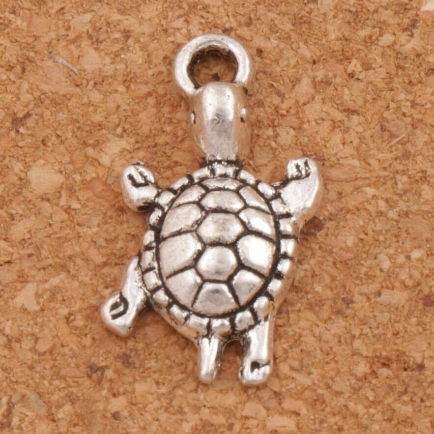 Turtle Tortoise Animal Spacer Charm Beads 26PCS Zinc Alloy Pendants Jewelry DIY L1174 23x12.2mm