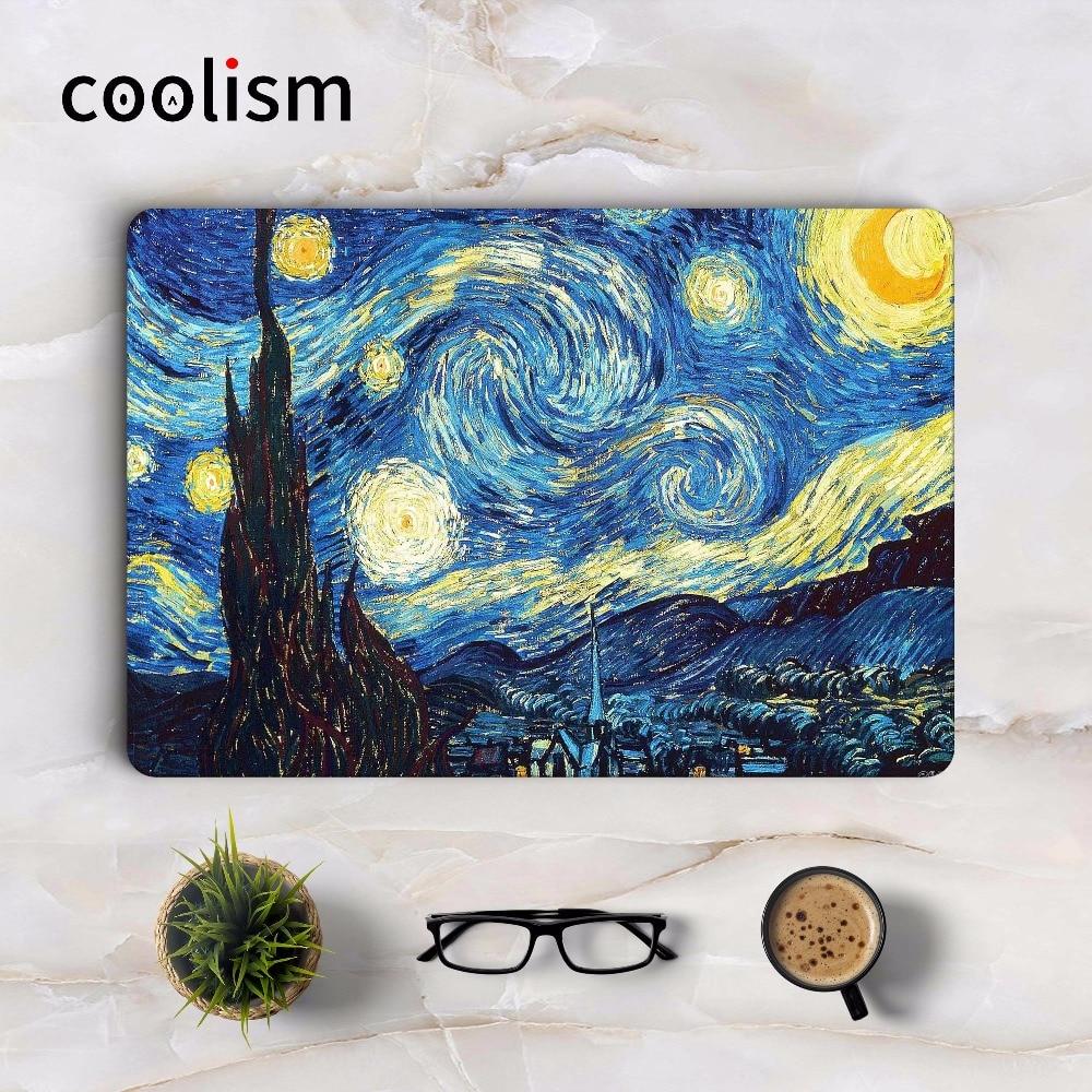 Beneath Van Gogh's Starry Sky Art Skin Laptop Sticker for Macbook Decal Pro Air Retina 11 12 13 15 inch Full Mi Mac book Sticker