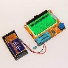 9V LCD numérique Transistor testeur LCR-T4 ESR mètre 12864 rétro-éclairage capacité