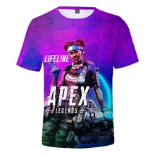 EA jeu Apex légendes imprimer 3D T-shirt court hommes loisirs manches courtes T-shirt Apex légendes confortable T-shirt