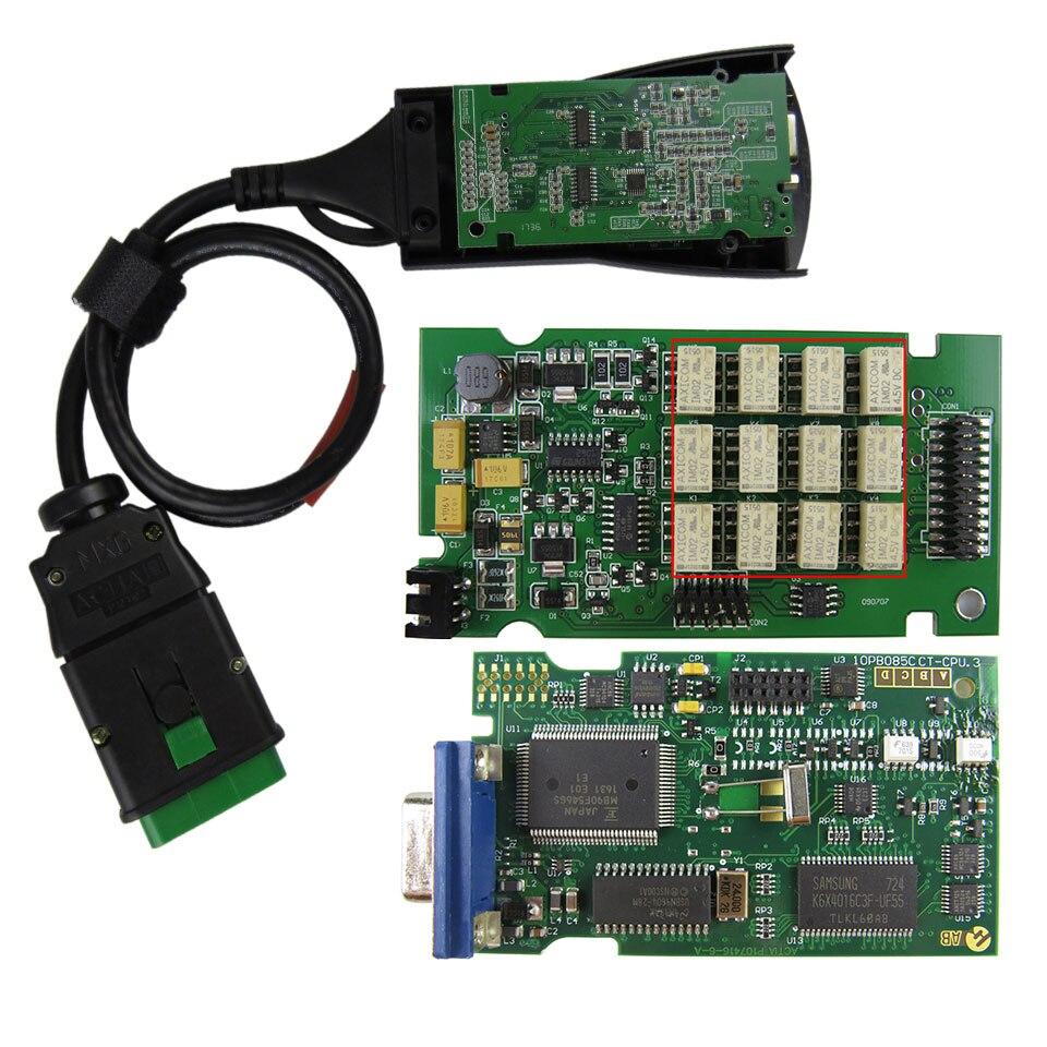Escáner de diagnóstico de coche Lexia 3 Chip completo Lexia3 PP2000 V48/V25 Diagbox V7.83 Lexia-3 para herramienta de diagnóstico p-eugeot/c-itroen