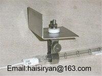 customized medium wave twin tube Electric halogen IR quartz heating Emitters