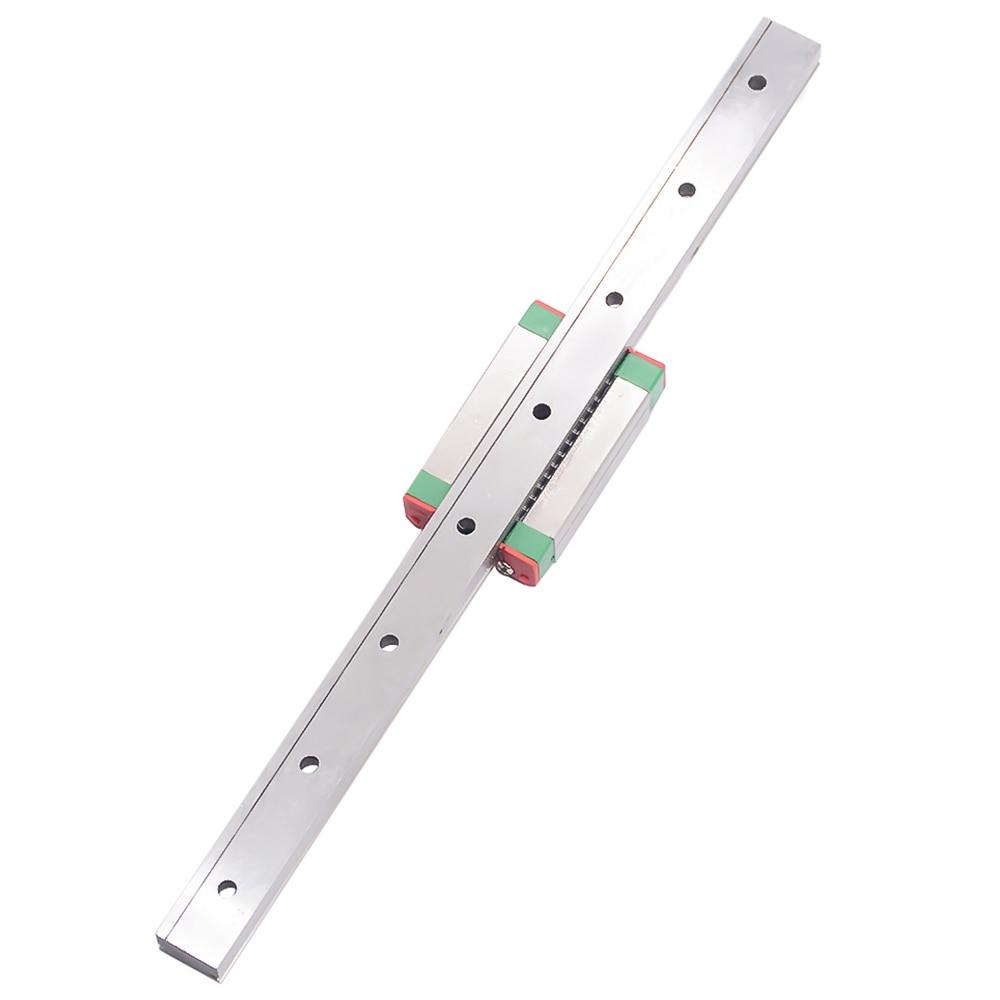 جزء CNC MR15 15 مللي متر دليل السكك الحديدية الخطية MGN15 L300mm MGN15C ، دليل الحركة الخطية المصغرة