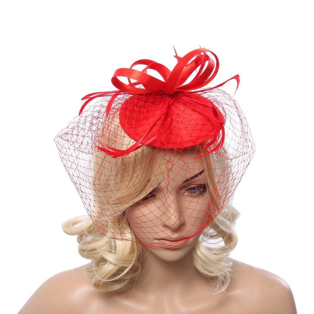 Accesorios para el cabello para mujer, accesorios para el cabello, fascinadores elegantes para fiestas y carreras