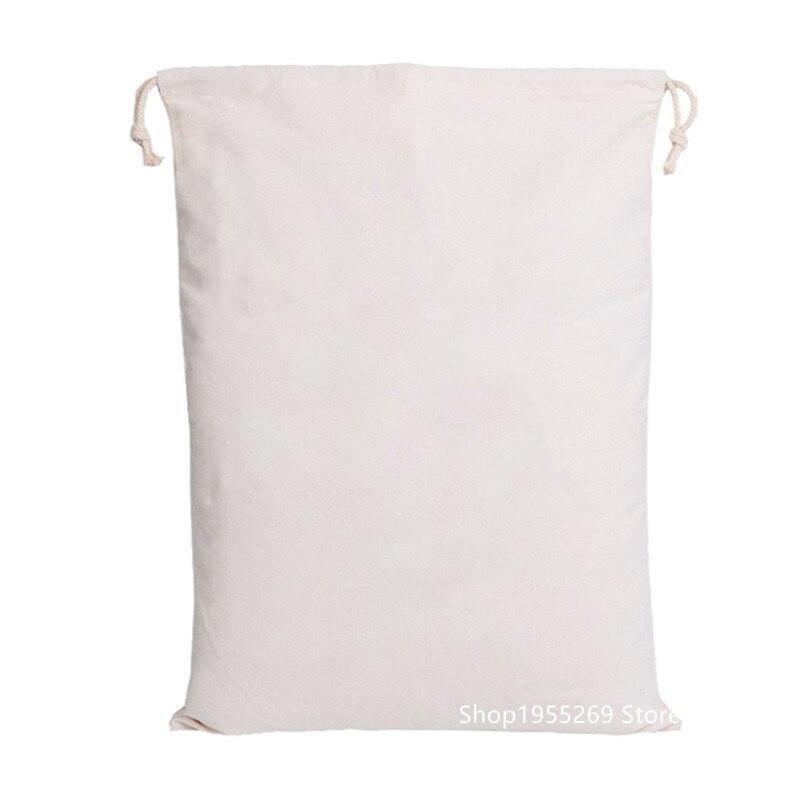 50 سنتيمتر x 70 سنتيمتر فارغة سانتا أكياس حقيبة 50 قطعة/الوحدة شخصية عيد الميلاد هدية حقيبة بيضاء احتفالية لوازم الحفلات مصنع بالجملة