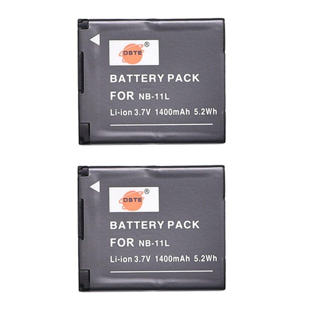 DSTE 2 шт. NB-11L NB-11L батарея для Canon PowerShot ELPH 110 HS ELPH 115 IS IXY 90F IXY 220F IXUS 240 HS IXUS 245 HS