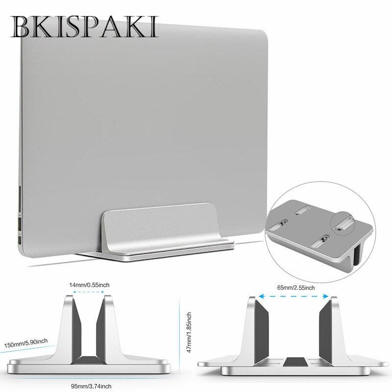 Verticais de alumínio Ajustável Suporte de Laptop Portátil Notebook Lenovo Estante Desktop Suporte de Montagem Suporte para MacBook Pro Ar