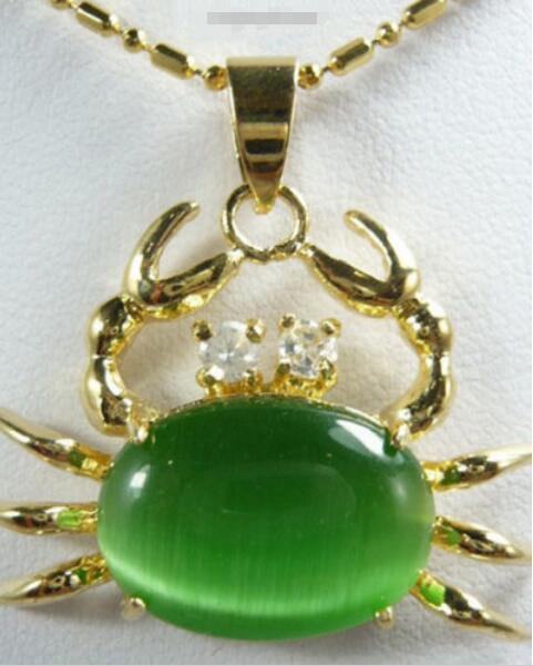 ¡Oferta! ¡envío gratis! ¡Nuevo estilo! ¡> collar de circonita verde de cristal amarillo, joyería de novia