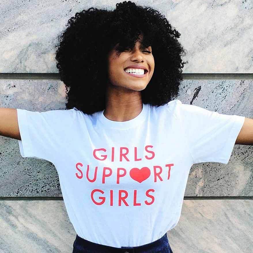Camiseta GAAJ para niñas, camiseta a la moda para mujer, camiseta para mujer, camisetas de manga corta, camiseta informal 6KZP1 #