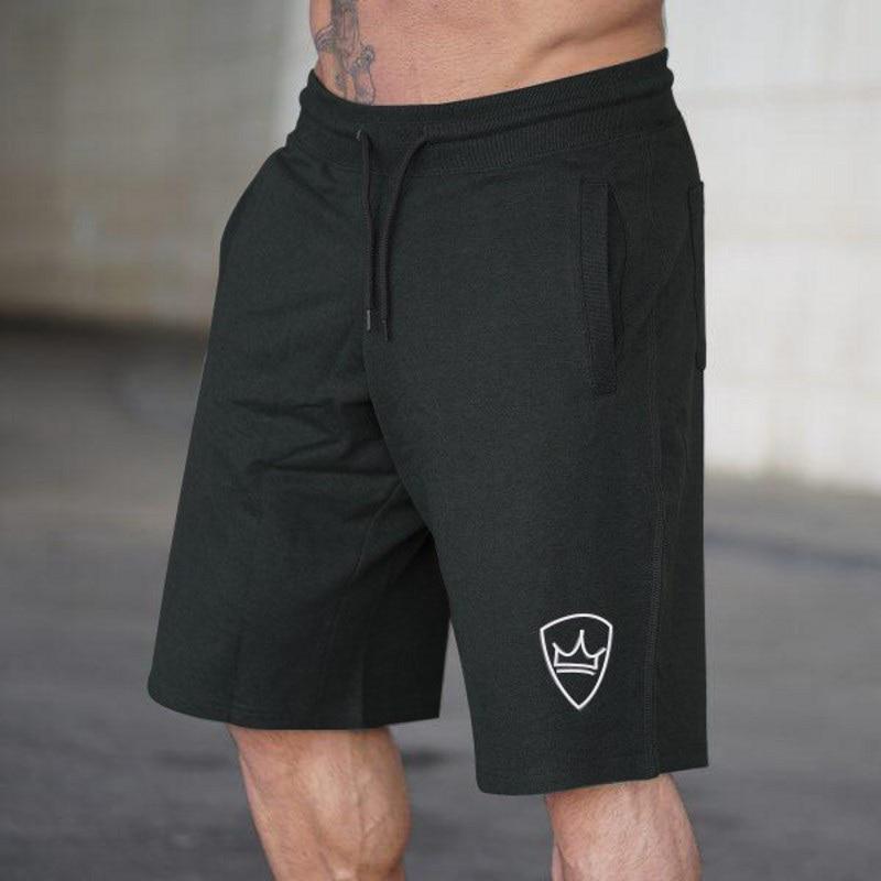 Hetuaf marca 2018 shorts de compressão masculina cintura alta cordão solto verão praia casualrunning respirável elástico masculino shorts